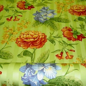 Genevieve Color Green Tea Cotton Fabric
